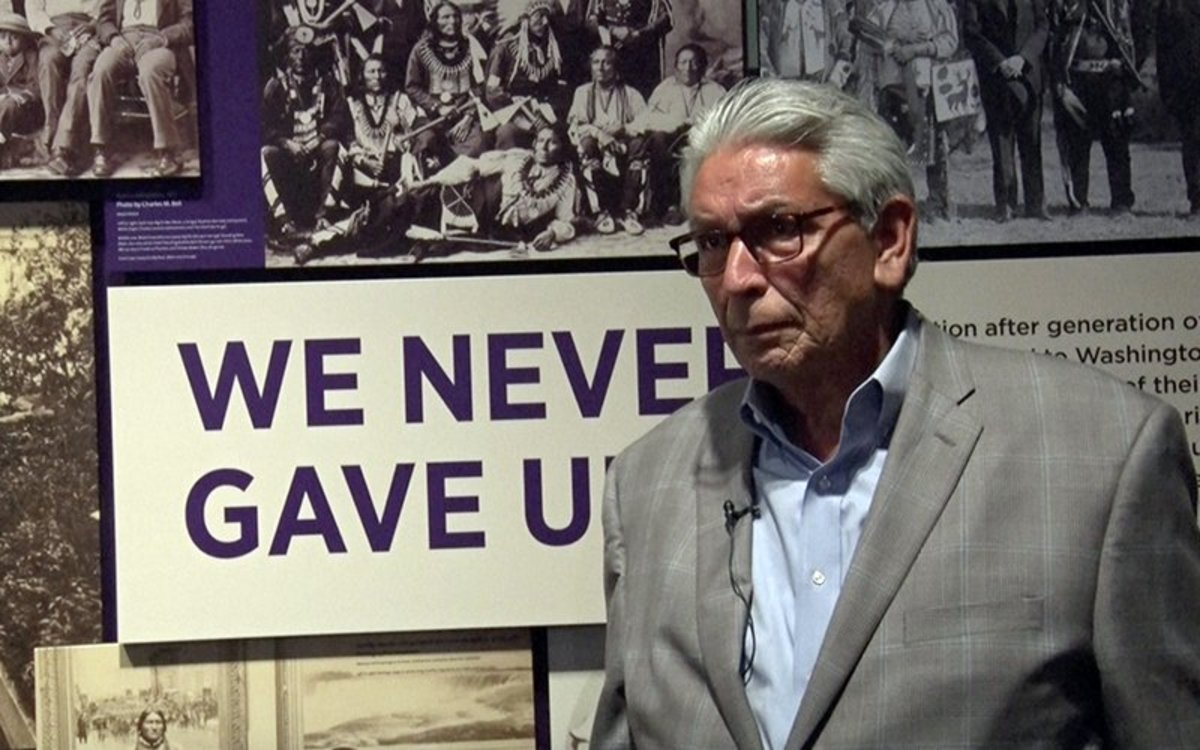 The Cherokees' Trail of Tears was not an isolated incident, says Kevin Gover, director of the Smithsonian's National Museum of the American Indian. For the better part of 100 years, he contends, it was U.S. policy to remove Indians and sell their land to white settlers. (Photo by Miranda Mahmud/Gaylord News)