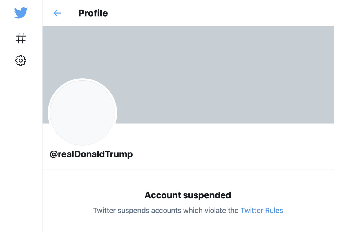 Twitter's ban of Donald Trump's account. Apple and Google said Saturday that the conservative alternative, Parler, is being removed from their app stores because the platform is not doing enough to review posts that encourage violence. (AP photo)