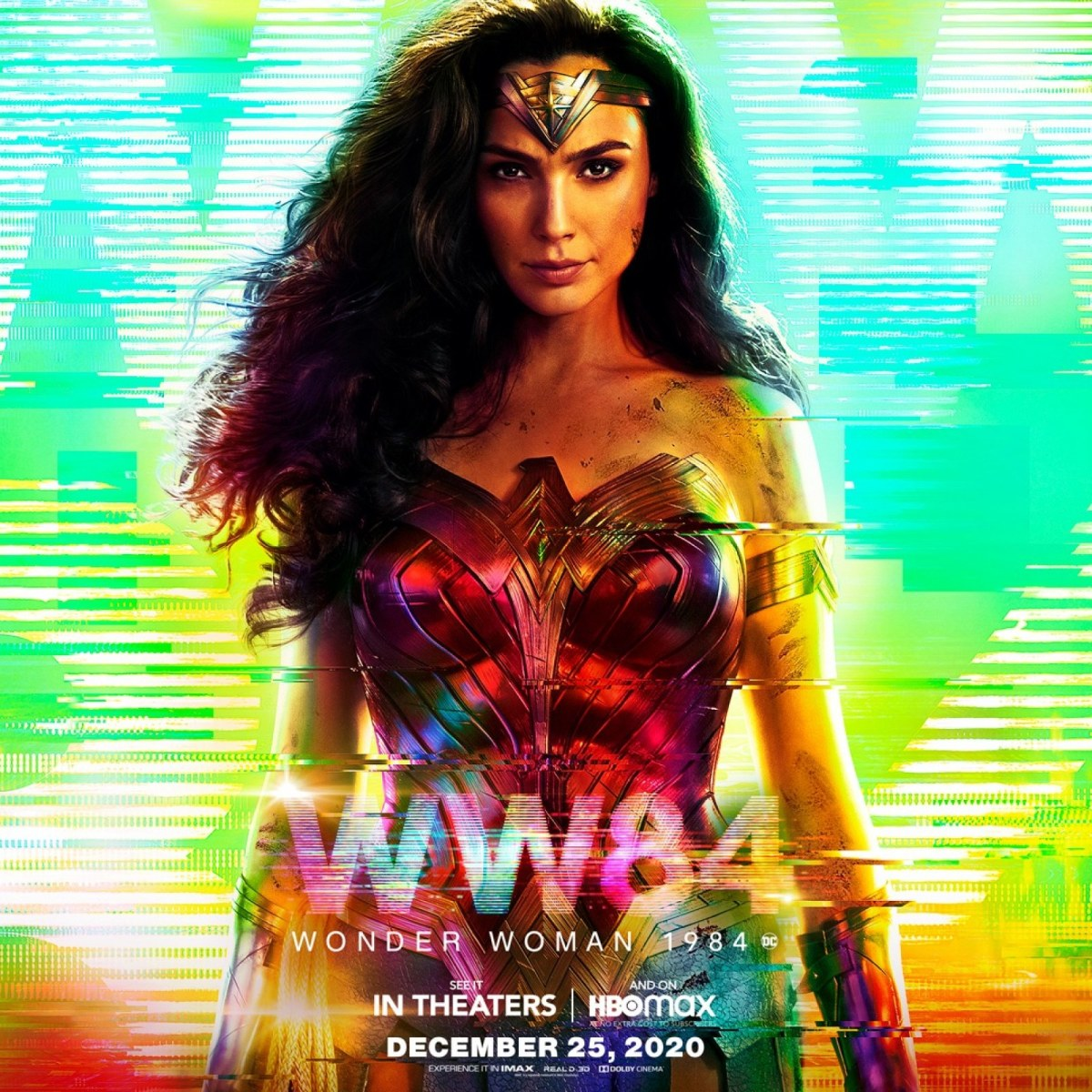 Wonder Woman theatrical poster HBO Max