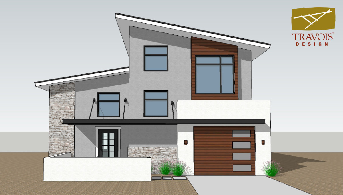 Pictured: Pascua Yaqui Homes #7 design rendering.