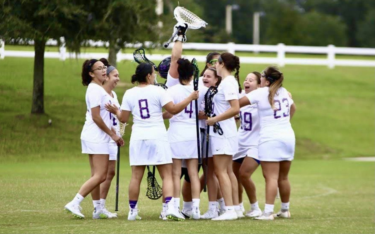 The Haudenosaunee Nationals in a 2019 match. (Photo courtesy of Haudenosaunee Nationals)