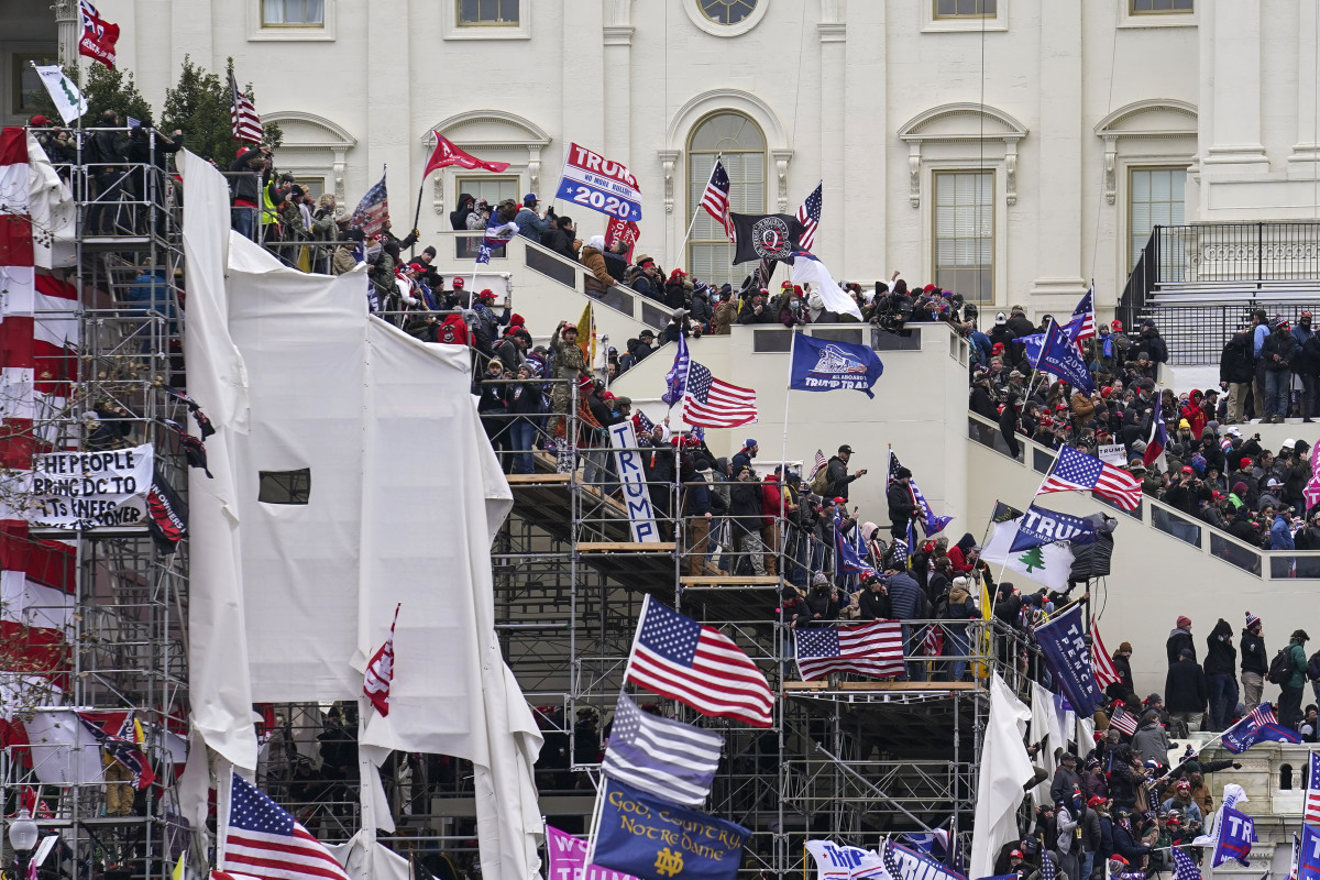 Briefs: Capitol rioters make questionable claims about police