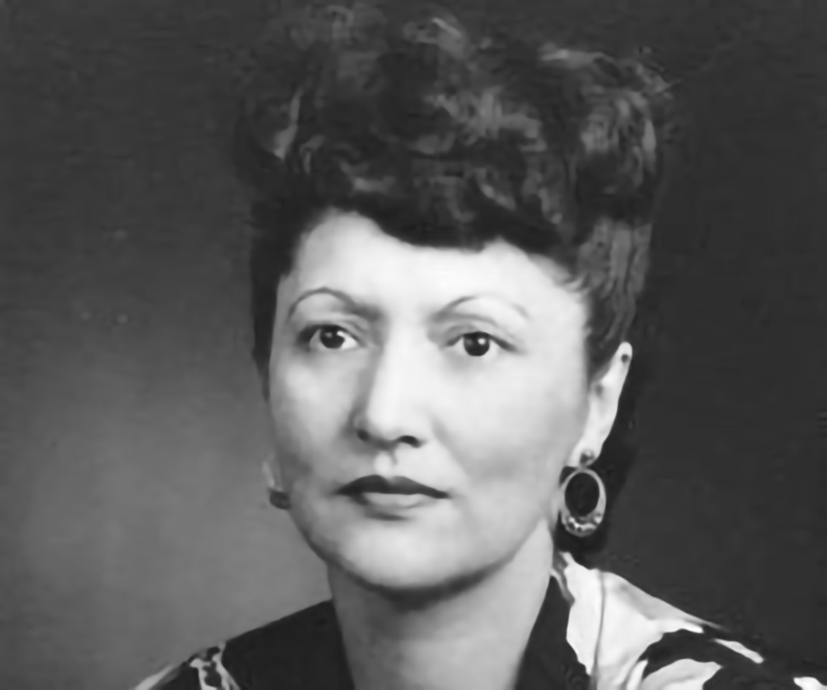 Pictured: Alaska Native civil rights activist Elizabeth Peratrovich, Tlingit.
