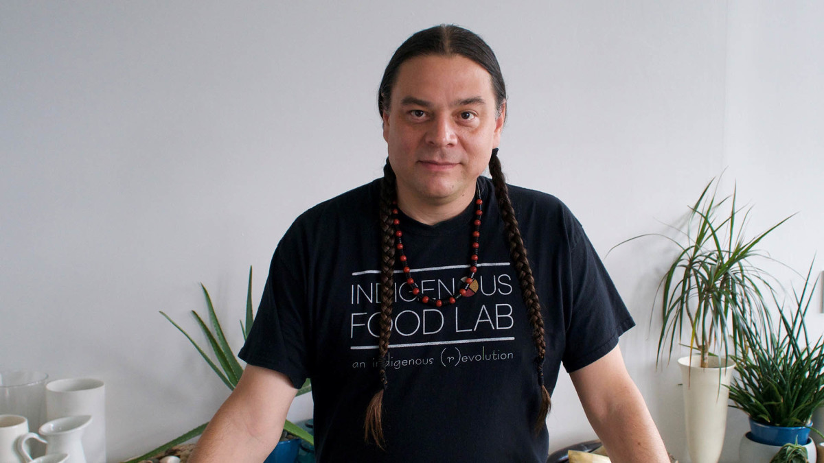 Sean Sherman | Oglala, Sicangu The Sioux Chef Minneapolis, MN