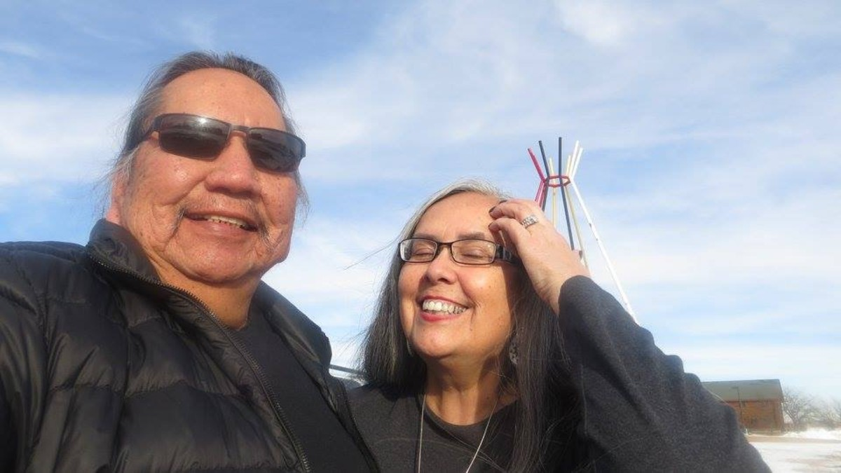 George McCauley (Omaha), Sandy White Hawk (Sicangu)