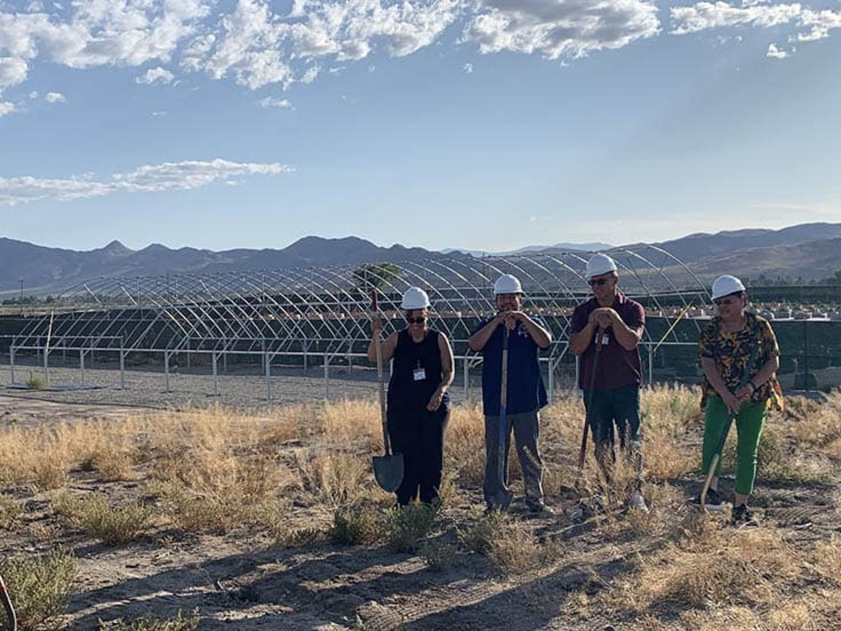 The Paiute Tribe of Nevada has taken advantage of laws legalizing the growing, processing and selling of marijuana, including construction of this cultivation facility. (Photo courtesy Tribal Cannabis Consultants via South Dakota News Watch)