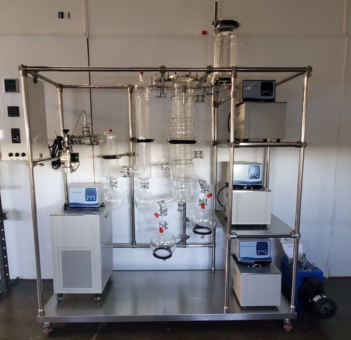 Testing and processing of marijuana products for retail sales by tribal entities involves the use of sophisticated equipment. (Photo courtesy Tribal Cannabis Consultants via South Dakota News Watch)