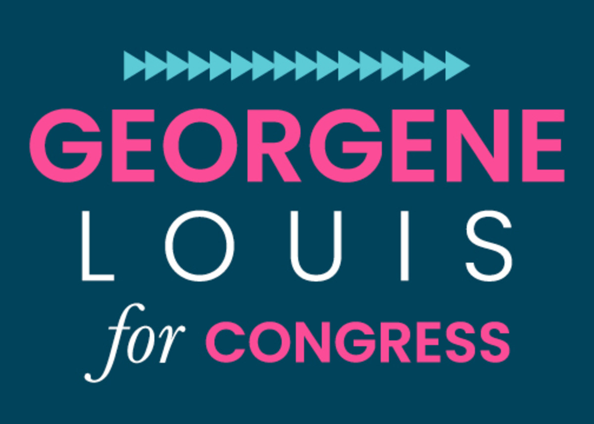 Georgene Louis for Congress Campaign - logo