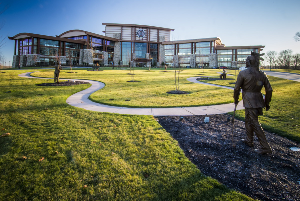 Mohegan Tribe Community Center and Government Building in Uncasville, Connecticut. (Photo by Bob Nichols, U.S. Department of Agriculture)