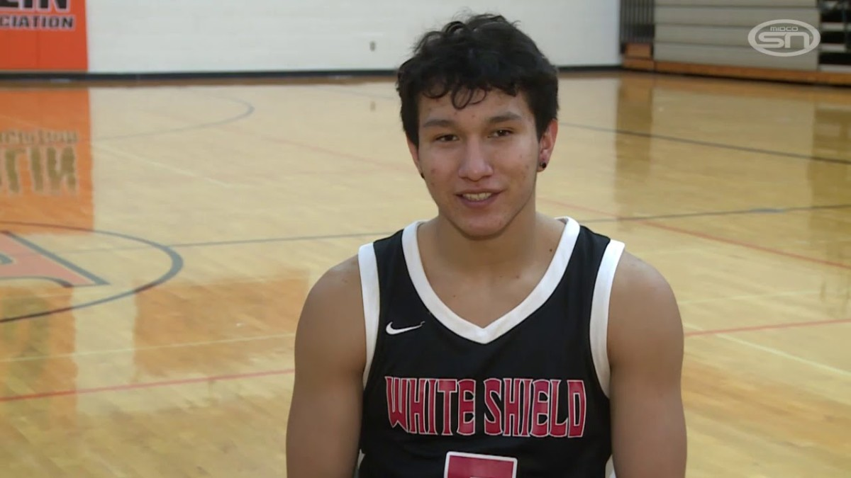 Jesse White, one of the top athletes in Indian Country is focused on finishing strong