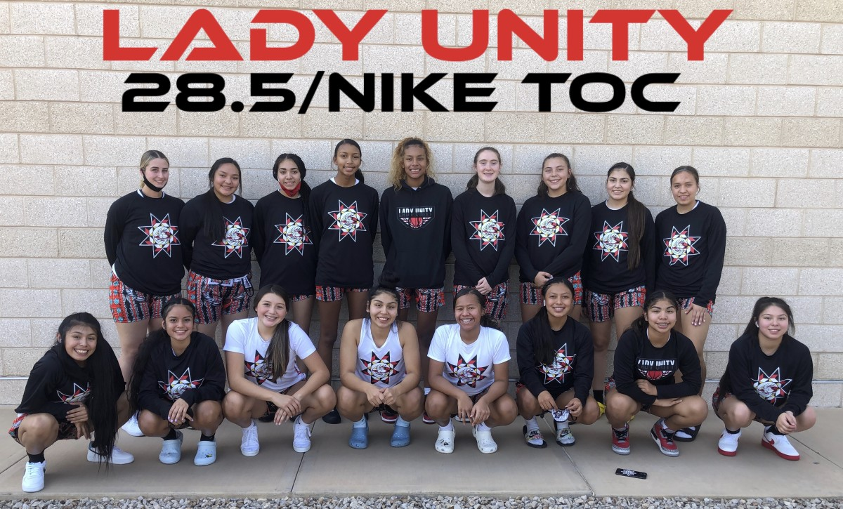 The Lady Unity program brings Indigenous athletes together from all over Indian Country