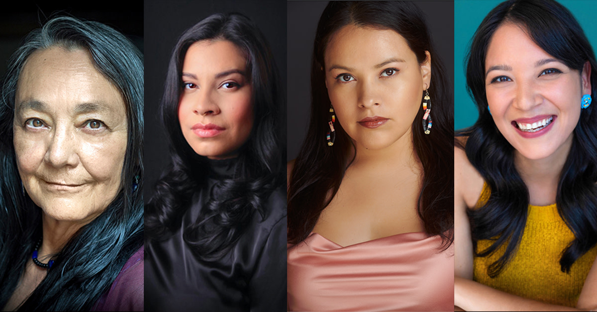 "Indigenous actresses Tantoo Cardinal, Cara Jade Myers, JaNae Collins, and Jillian Dion will play Lizzie Kyle, Anna Brown, Rita Smith, and Minnie Smith in Martin Scorsese's upcoming film, ""Killers of the Flower Moon."" (Photo courtesy of Osage News)"