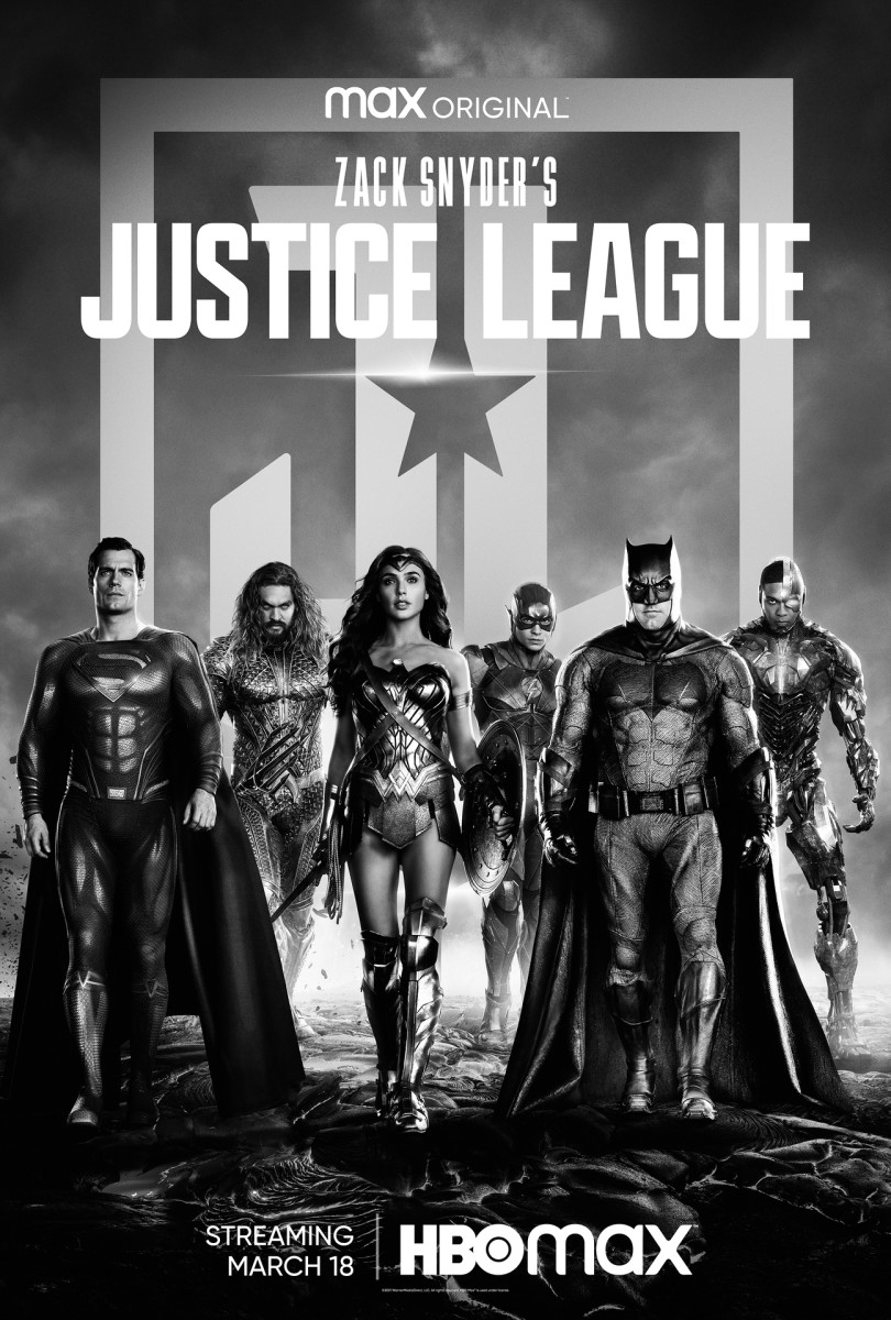 Zack Snyder's Justice League poster (Courtesy HBO Max/Warner Media)