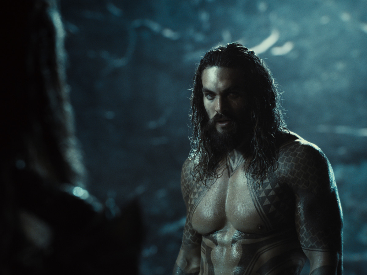Jason Momoa (Aquaman / Arthur Curry) Photograph by Courtesy of HBO Max