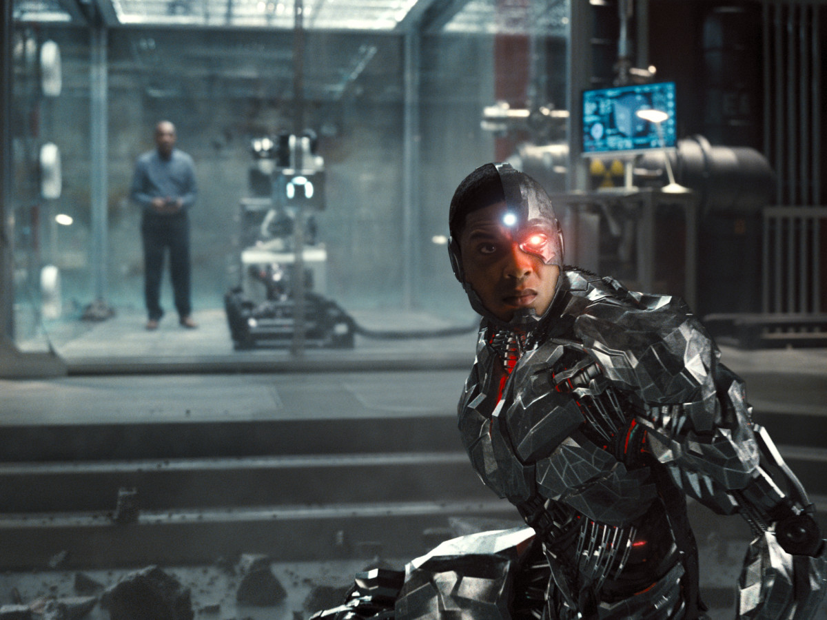 Ray Fisher (Cyborg / Victor Stone) (Photograph by Courtesy of HBO Max)