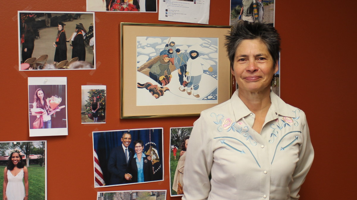 Heather Kendall is a retired attorney and Dena'ina Athabascan, formerly with the Native American Rights Fund. (Photo by Angela Gonzalez, AthabascanWoman.com)