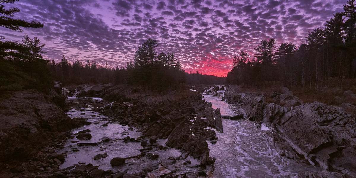 The St. Louis River moves through Wisconsin and Minnesota before flowing into Lake Superior. The Fond du Lac Band says a proposed copper mining operation would dump pollutants into the waterway. (Photo by Ryan Fonkert, Creative Commons)