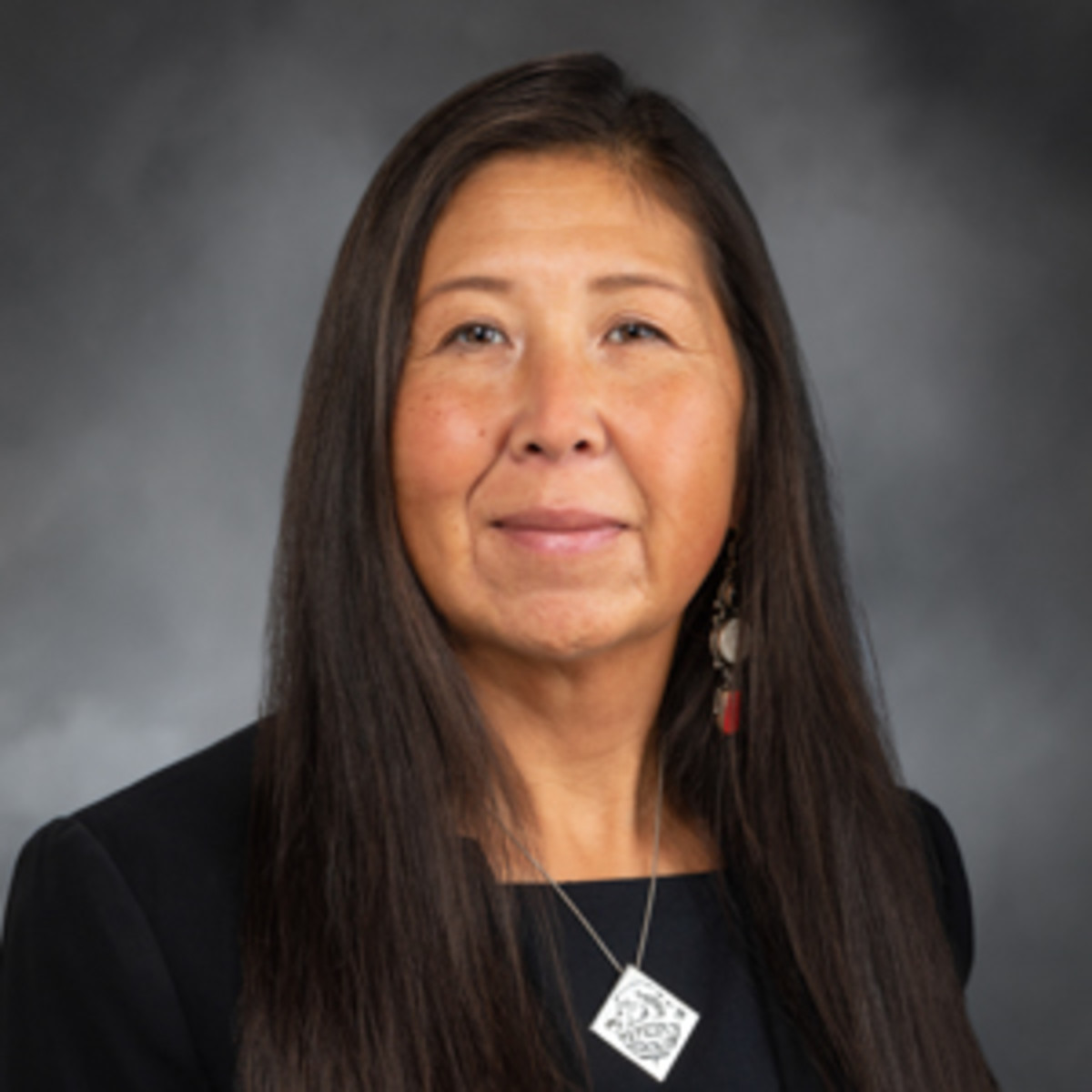 """Rep. Debra Lekanoff, D-Bow, calls for State Patrol troopers to become familiar with the communities they police. """"The majority of your police officers in Indian Country are not people of color."""" (Photo by the Washington State House Democrats)"""
