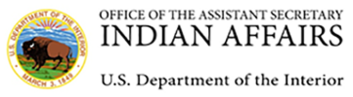 Office of the Assistant Secretary - Indian Affairs - banner logo