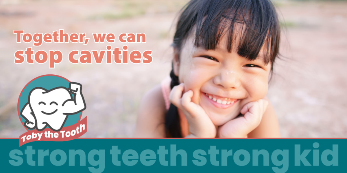StrongTeeth Strong Kid with Toby the Tooth