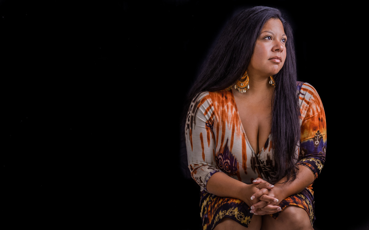 Indigenous journalist Rachael Devaney was born in El Salvador but raised on Cape Cod in Massachusetts. (Courtesy Photo.)