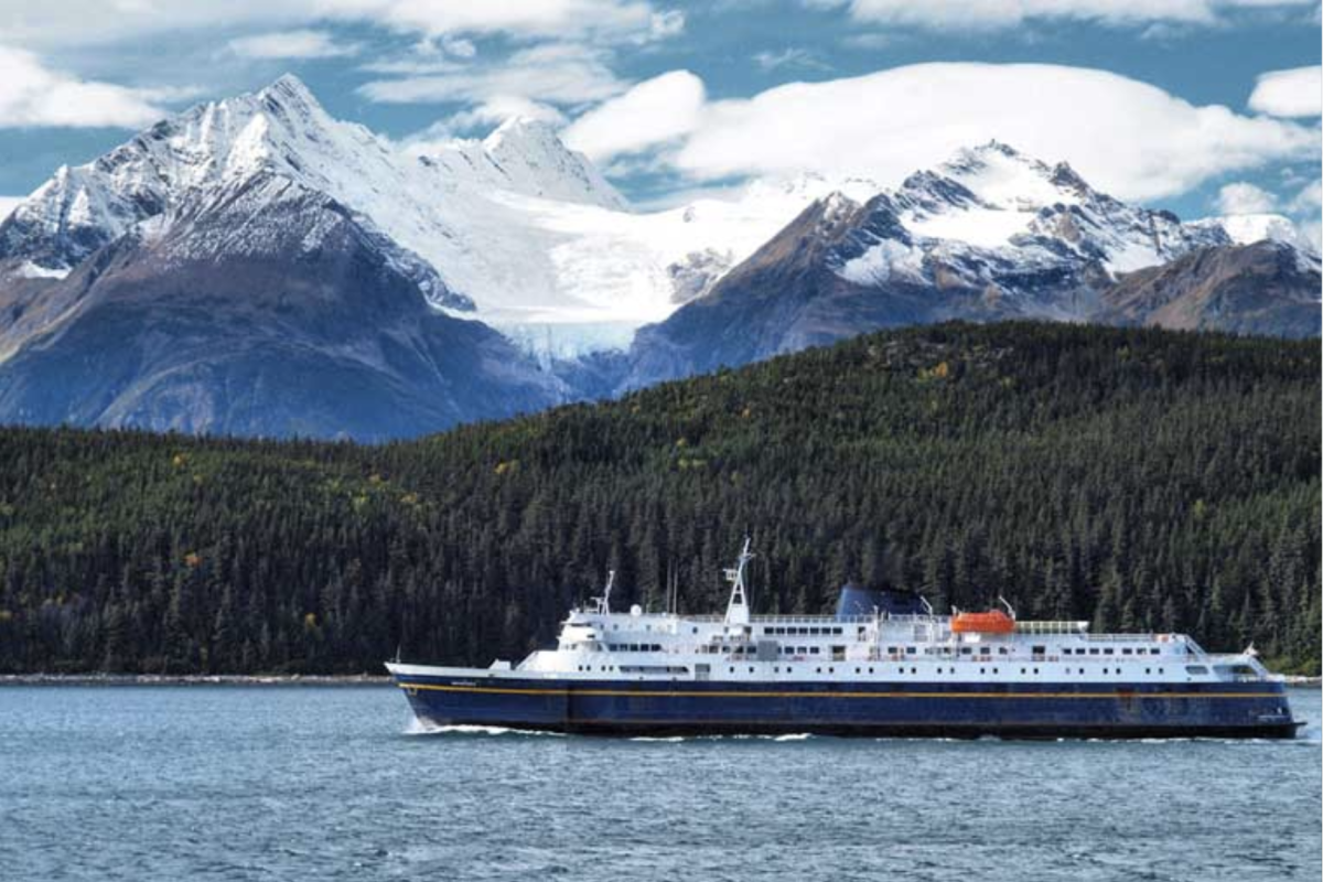"""The """"Matanuska"""" was the last mainline ferry still in service when it broke down in Juneau on January 16. Alaska Department of Transportation and Public Facilities officials hope it will be operational again in early March."""