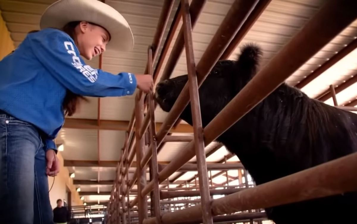 """""""You have to know all the bulls. You have to know what they do,"""" says Najiah Knight. (Screen capture PBR YouTube channel)"""