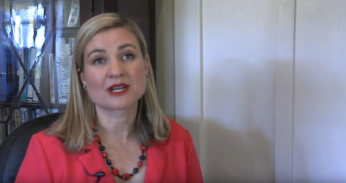 Phoenix Mayor Kate Gallego had pushed hard for the Democratic National Committee to host a presidential primary debate in the city and welcomed Friday's announcement. (Photo by Cronkite News)