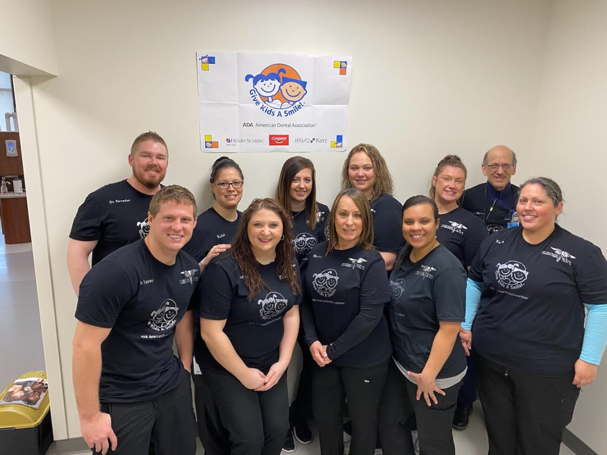 Pictured: Eufaula Indian Health Clinic dental team.