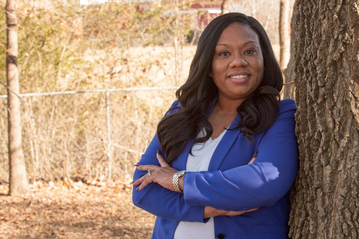 Danyell Lanier, Cherokee Nation, is running as an uncontested democrat in Oklahoma's 2nd congressional district. (Photo courtesy of Danyell Lanier)