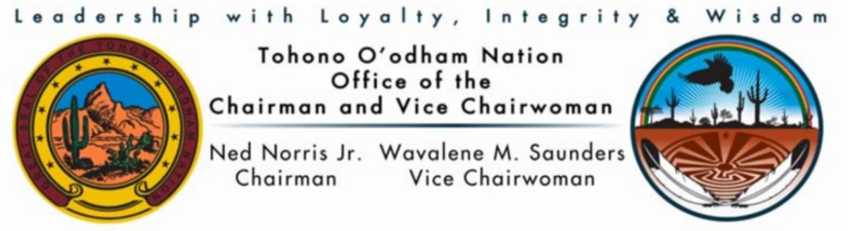 Tohono O'odham Nation - Office of the Chairman and Vice Chairwoman - seals