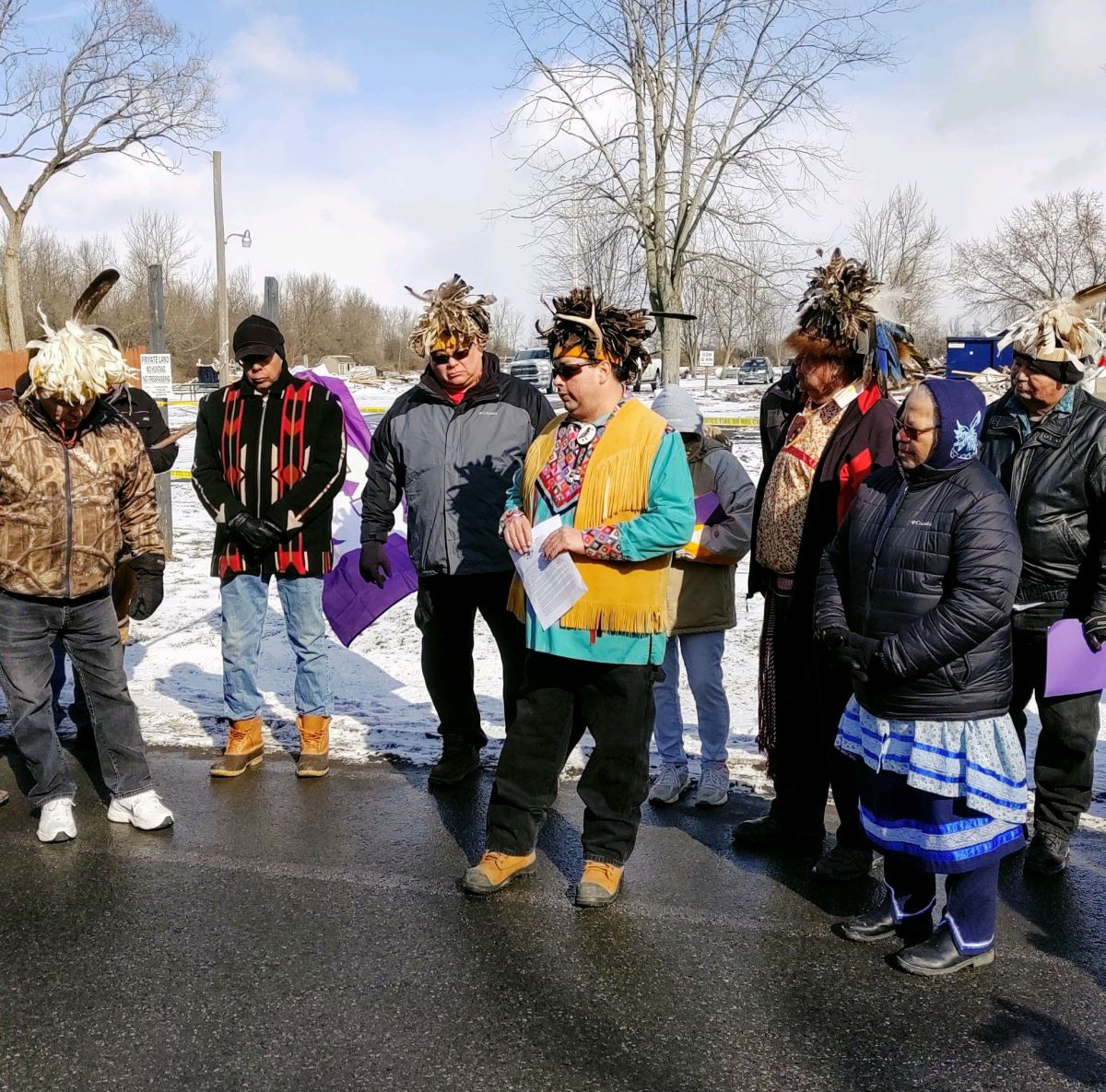 Cayuga conflict - photo by Leslie Logan (7)