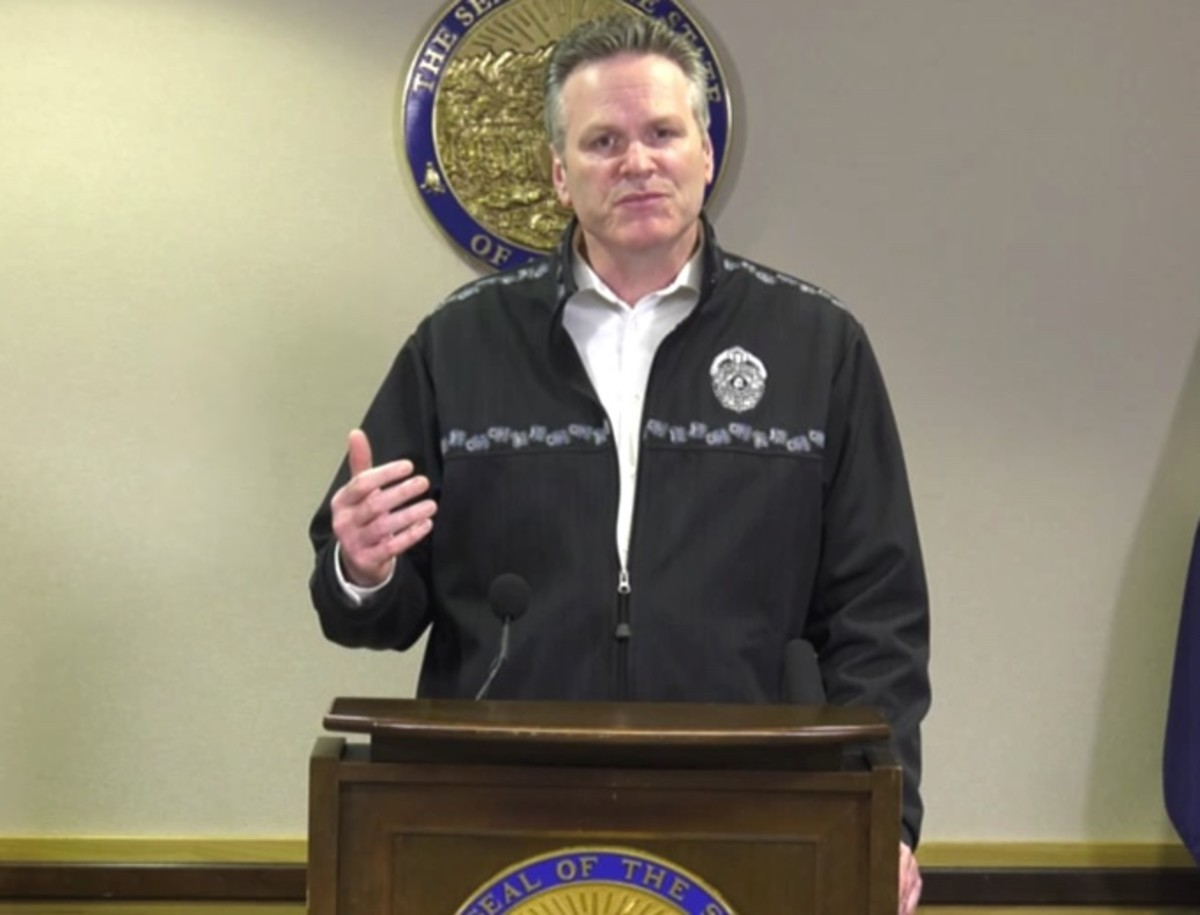 """""""These are the times that Alaskans really shine. So we're going to get through this ...."""" The country, the world will get through this, Alaska Gov. Mike Dunleavy said."""