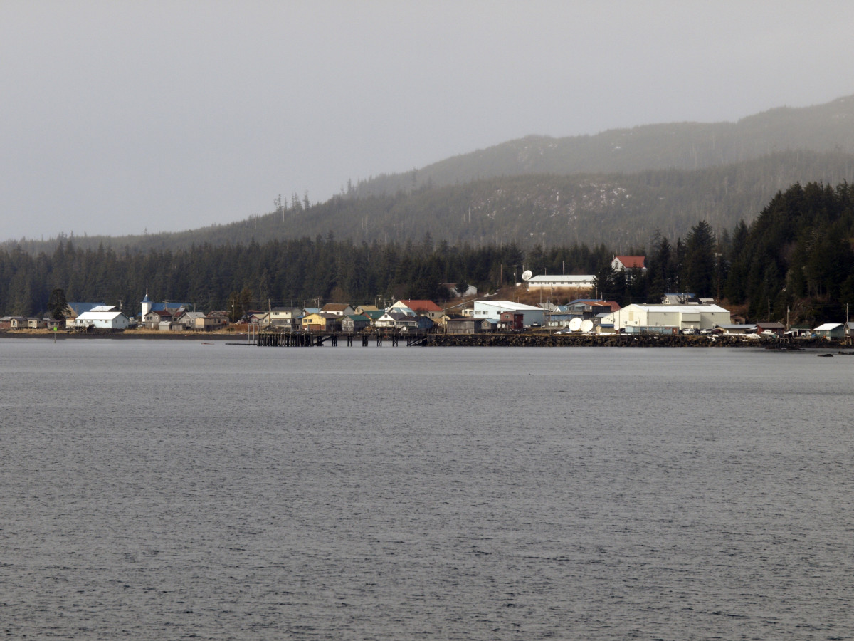 Kake is a village of 550 people on Kupreanof Island in Southeast Alaska. About two thirds of the population is Tlingit Indian. Last summer the village received permission to hunt two moose and five deer to ensure the health of its elders and provide culturally nourishing food during the pandemic. (File photo: Creative Commons)