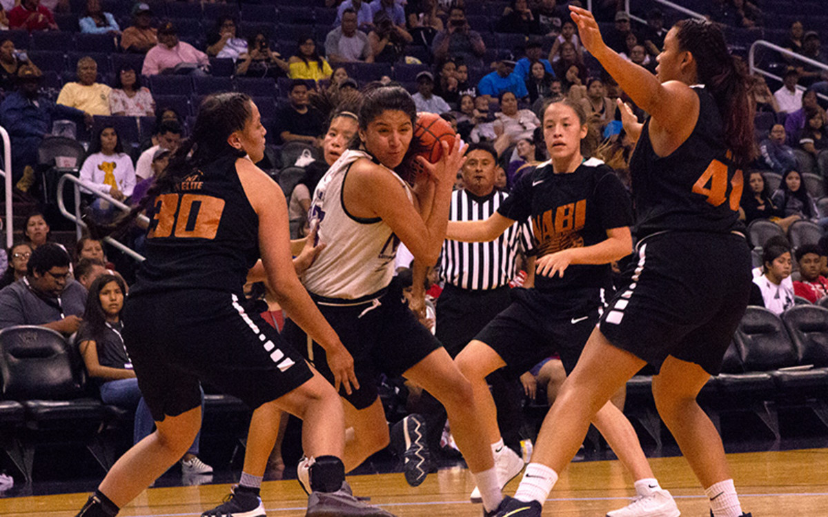 The cancellation of the 2020 Native American Basketball Invitational was a blow to a community that benefited from the event thanks to scholarships and exposure. (File photo by Nate Fain/Cronkite News)