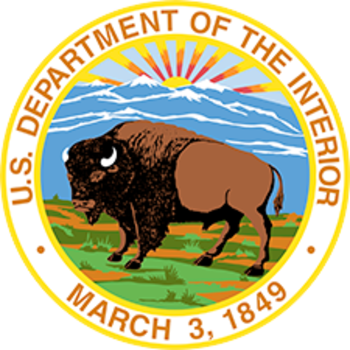 United States Department of the Interior - seal