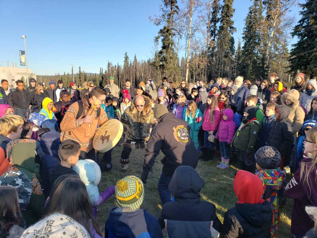 Today we celebrate Indigenous Peoples Day at the Troth Yeddha' campus. #NanookNation (University of Alaska Fairbanks, Facebook)