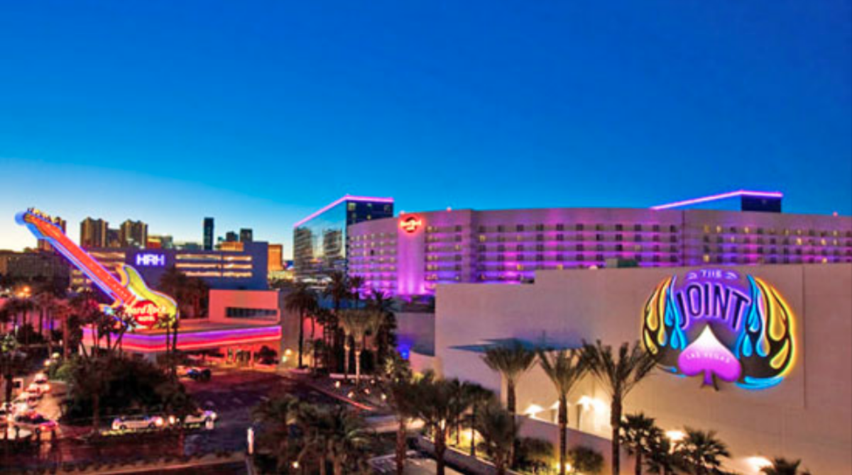 Former Las Vegas Hard Rock Hotel and The Joint Club (Photo courtesy of Las Vegas Tourism)
