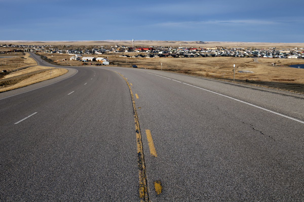 In Glacier County, home to the Blackfeet reservation and the town of Browning, only 25.6% of the population has access to high speed internet. Native News 2012 File Photo/Patrick Record