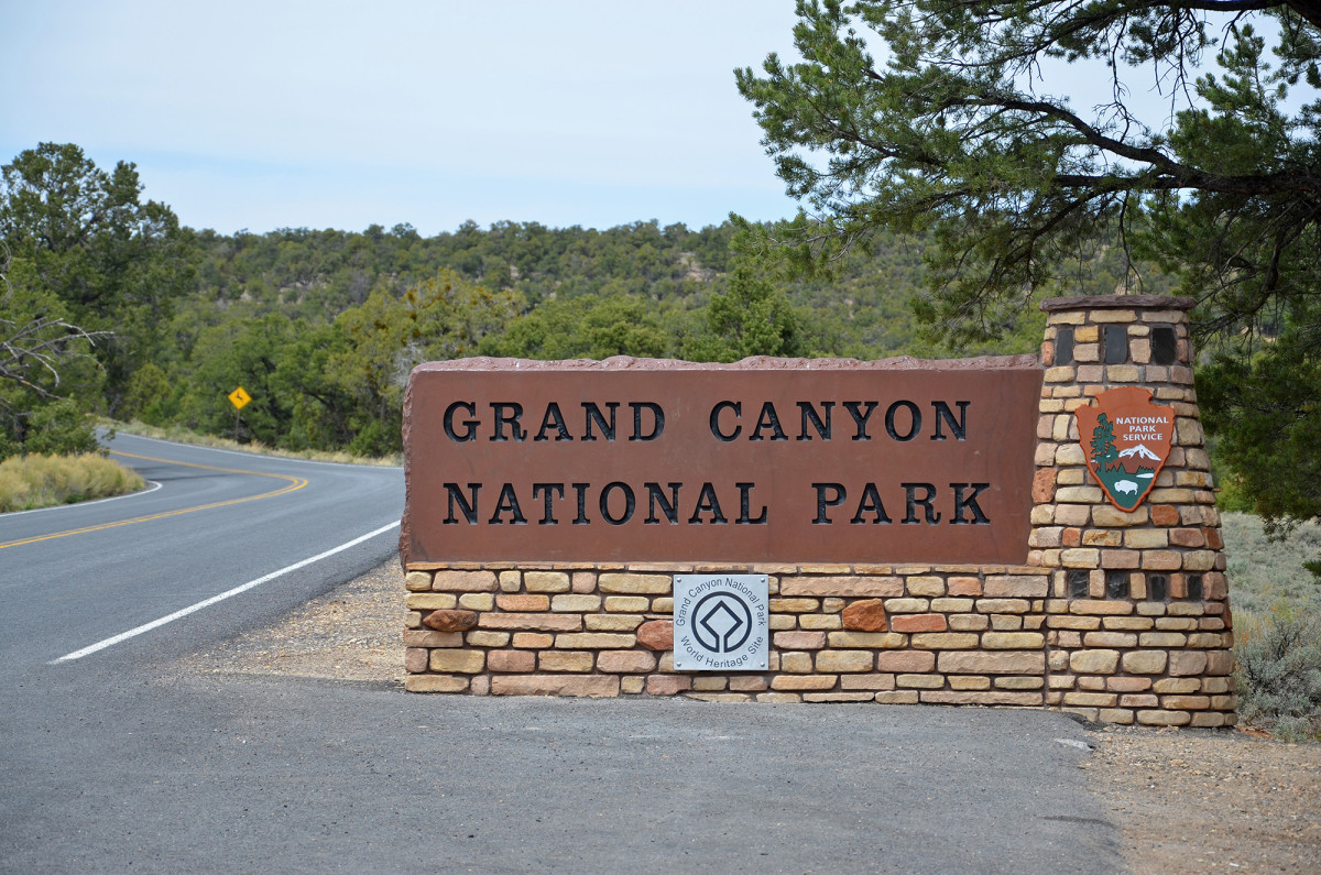 The east entrance to Grand Canyon National Park will be closed, even as parts of the park reopen. The entrance is nearest the Navajo Nation Reservation, which is under lockdown this weekend to battle the spread of COVID-19. (Photo by Michael Quinn, National Park Service)