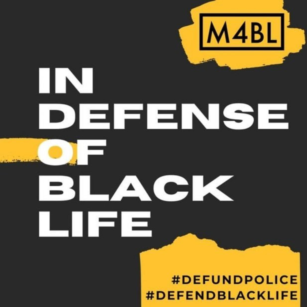Movement For Black Lives _ M4BL _ graphic - Indigenous Environmental Network - IEN