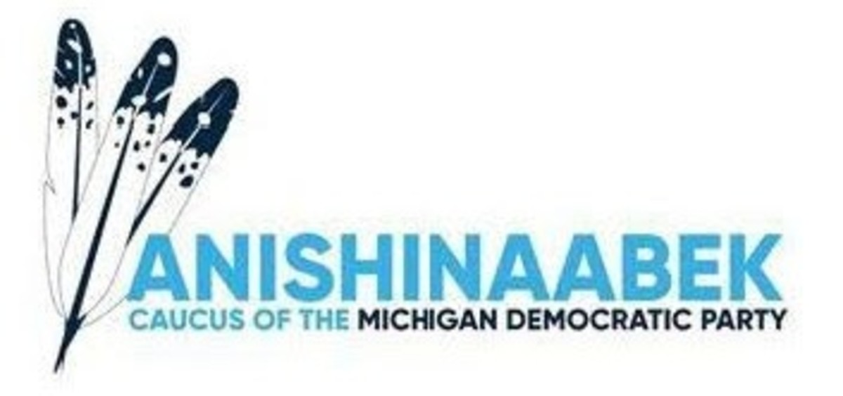 Anishinaabek Caucus of the Michigan Democratic Party - logo