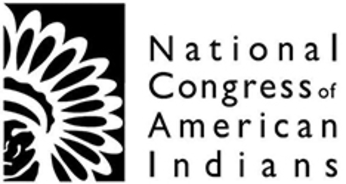 NCAI, National Congress of American Indians - logo small