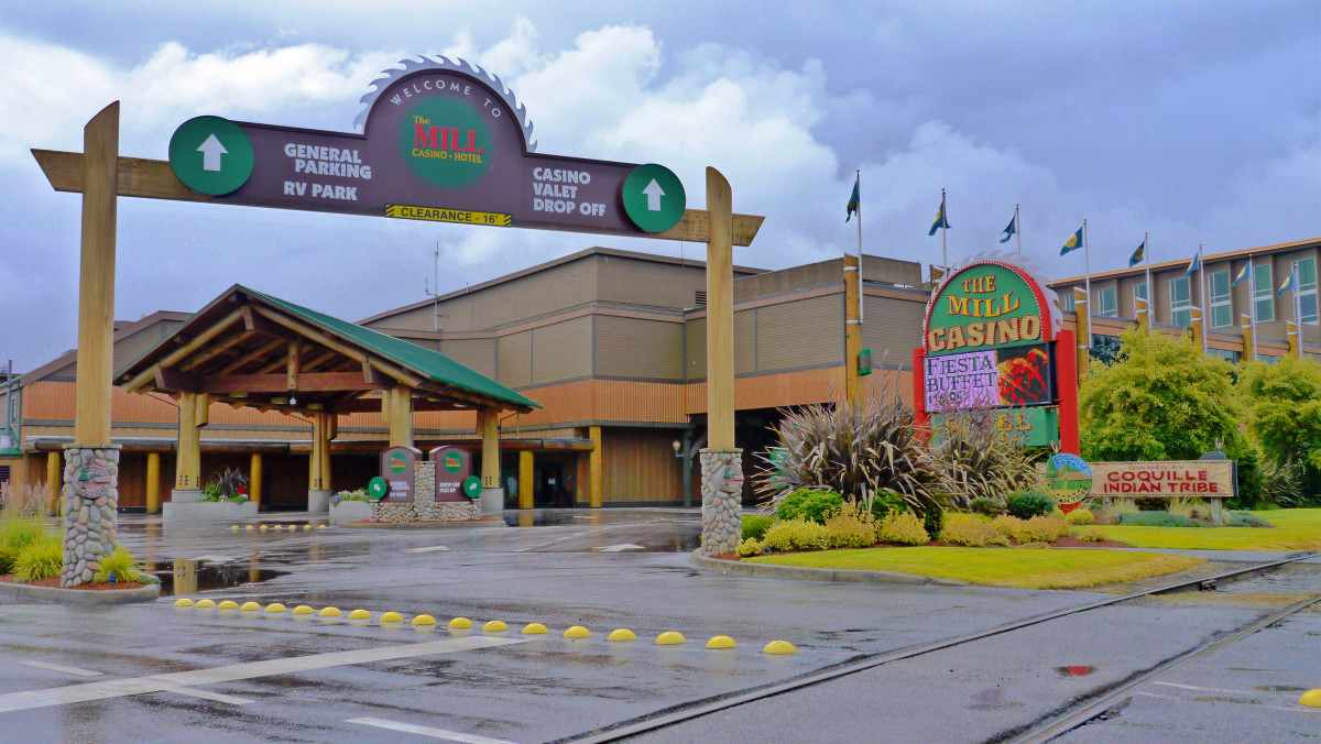 """Since opening its Mill Casino Hotel in Coos Bay, the Coquille Tribe has amassed an investment portfolio that includes technology companies, health care facilities, timberlands and a construction company. """"It's about self-sufficiency,"""" Coquille Tribe Chairman Brenda Meade said. (Courtesy / Coquille Tribe)"""