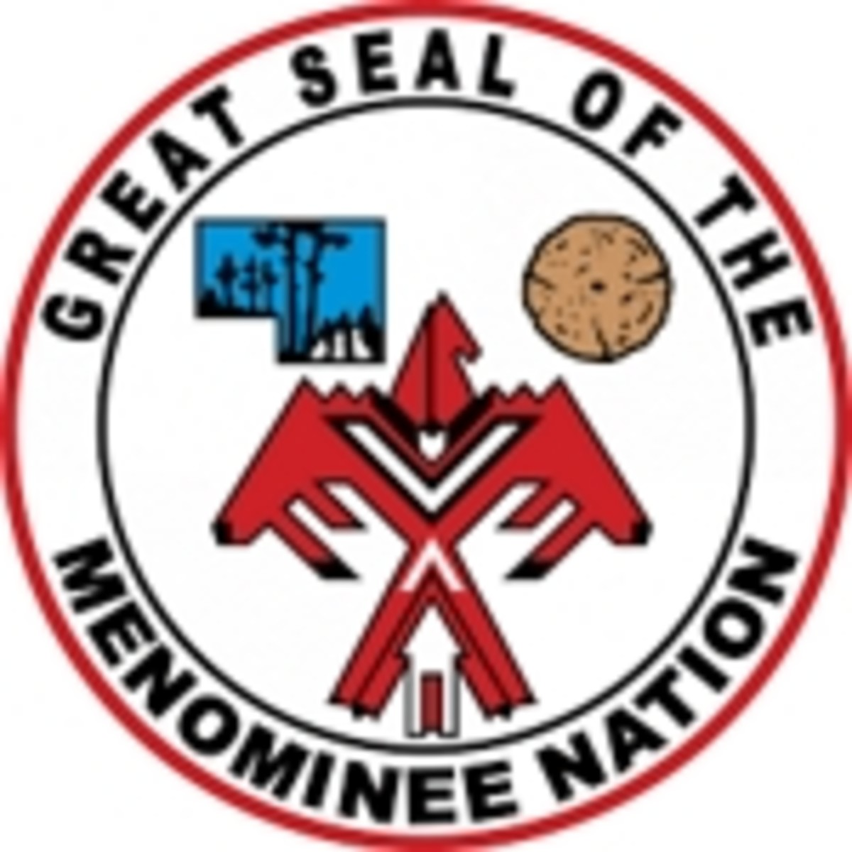 Great Seal of the Menominee  Nation - small