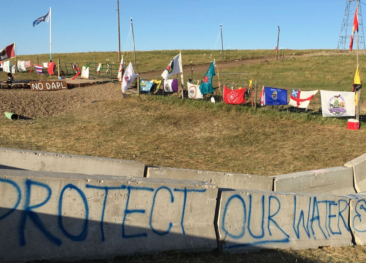 Dakota Access Pipeline in North Dakota. (Photo by Mark Trahant, File)