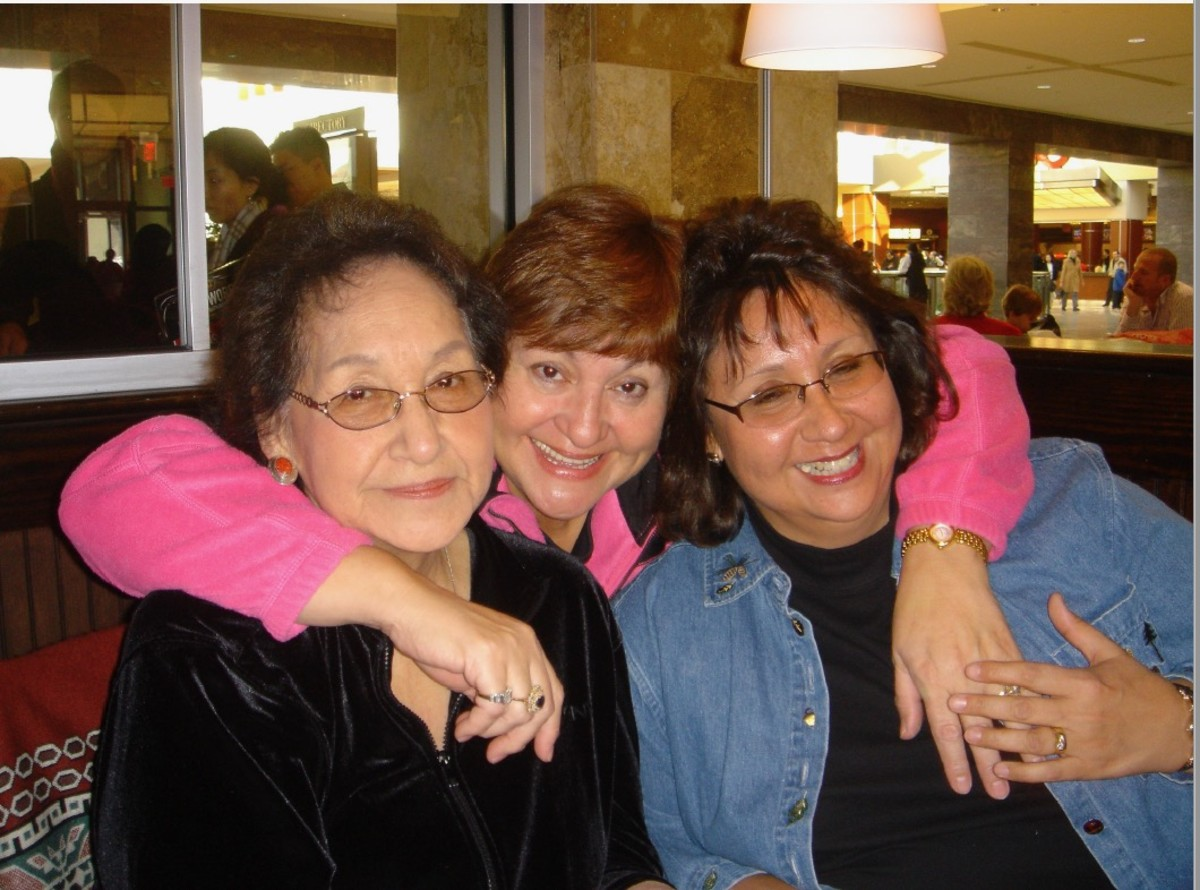 From left to right, Norma Kennedy and her two daughters, Diane Kennedy and Cindy Mohr. (Photo courtesy of their family)