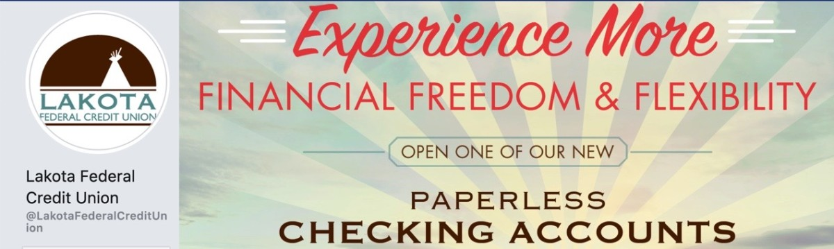 Lakota Funds, a Community Development Financial Institution, provides loans and technical assistance such as training on financial literacy, home ownership, and small business development on the Pine Ridge reservation. Its credit union offers banking services.(Screenshot from website)