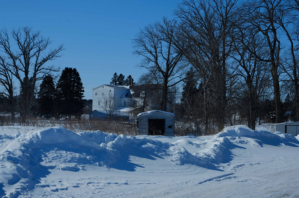 The building housing the girls' dorm at St. Mary's Mission on the Red Lake reservation still stands today. Photo by Mary Annette Pember