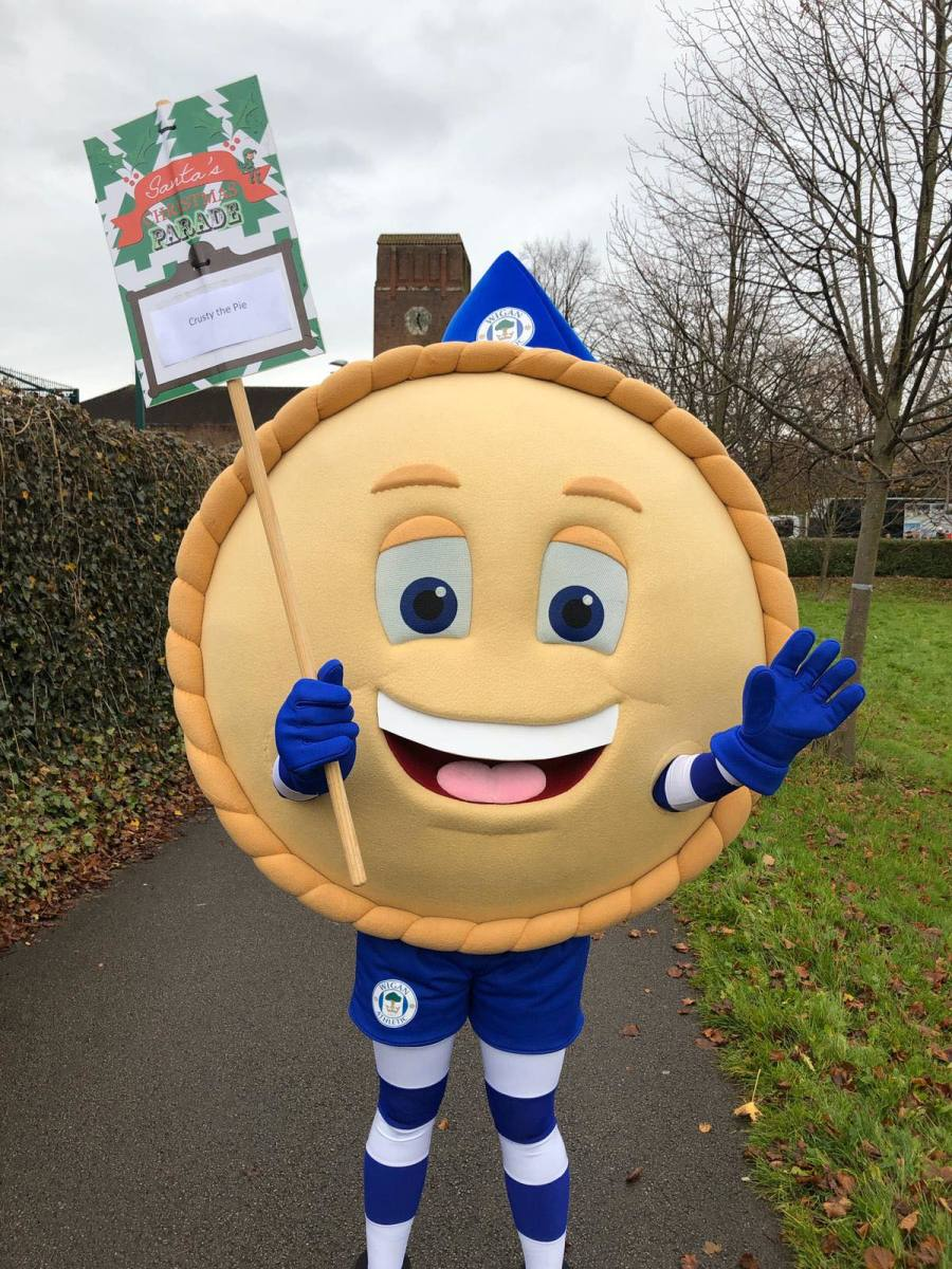 (Photo from Wigan Athletic, Facebook)